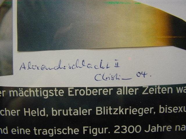 G782/ Collage Alexanderschlacht 1
