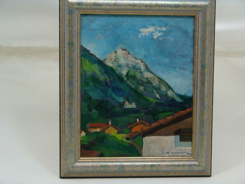 E480/Friedrich Karl Kurowski Alpenpanorama