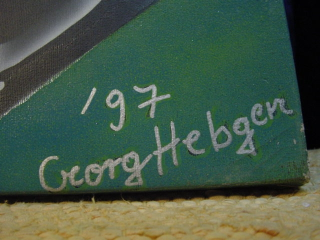 G542/ Original Airbrush George Hebgen 97 1