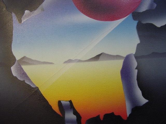 G542/ Original Airbrush George Hebgen 97 3