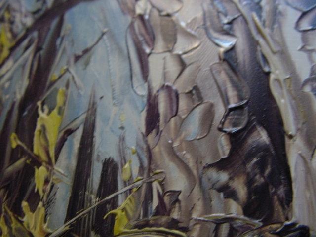 G469/ Ölbild Zwei Bären sehr schöne Arbeit 1968 2