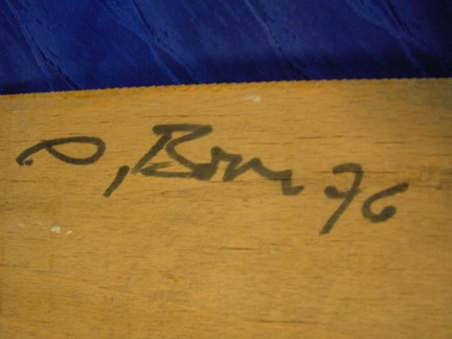 G599/ Bild: Märchen auf Holzplatte, sehr schöne Arbeit 2