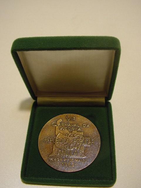 E450/ Bronce Medaille  VI Carnaval da vitoria Republica Angola