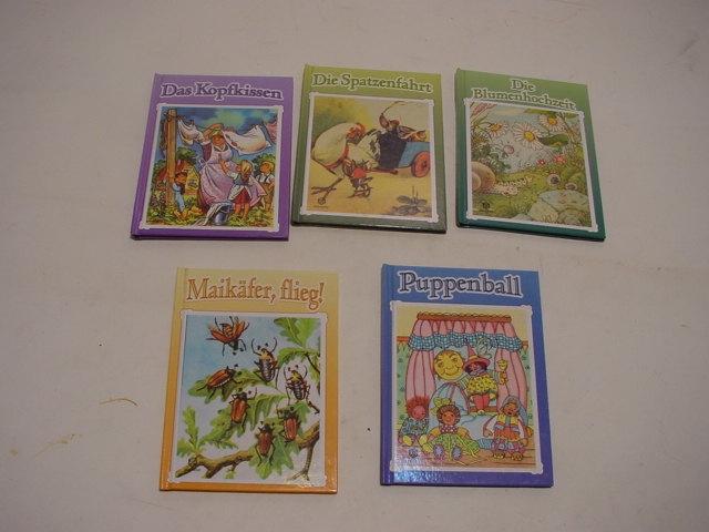 E388/ 5 Kinderbücher Schwager+ Steinlein