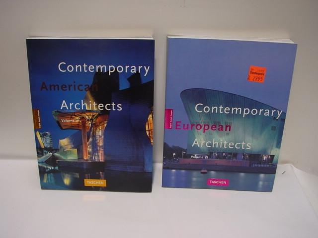E307/ Contemporary american architects vol IV / Contemporary european architects
