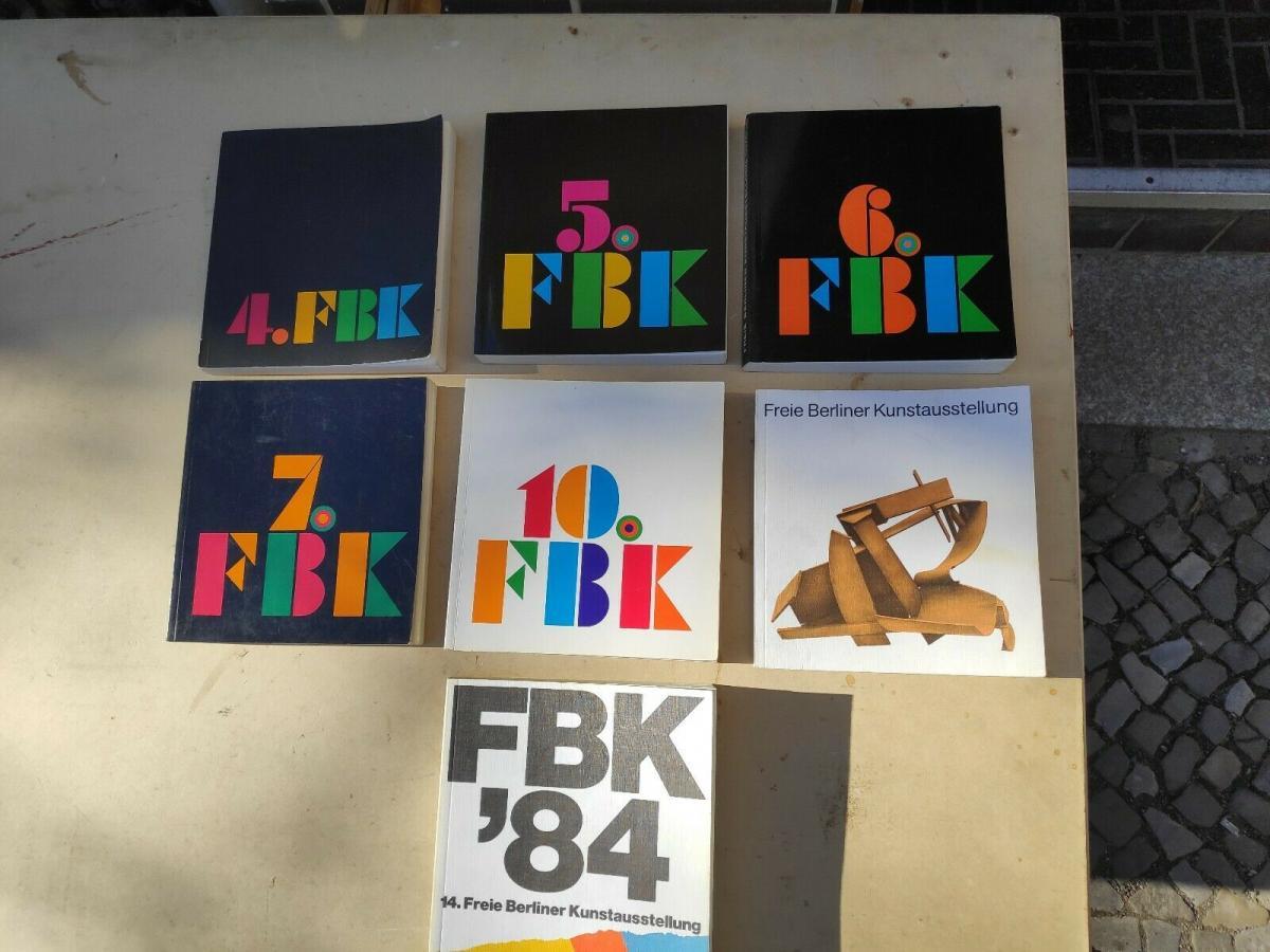 E128/ freie Berliner Kunstausstellung 7 Bände