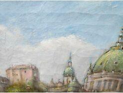 E193/Öl-Bild Gemälde Kgl. Schloss Berlin Bolesta 5