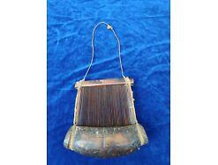 E196/ Webrahmen Handwerkzeug antik Afrika