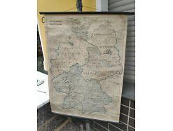 E208/ Perthes Karte der Besatzungszonen Deutschland