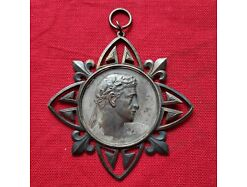 E253/ Jugendstil Medaille Pfaffendorf