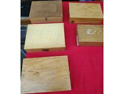 E251/ Mehrere Diakästen Holz,  450 Dias