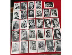 E243/ Sammlung KuB Autogrammkarten Schauspieler