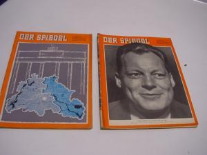E77/ der Spiegel 1957 und 1958 Willy Brandt