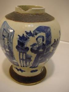 E325/ Asiatische Vase Asiatika