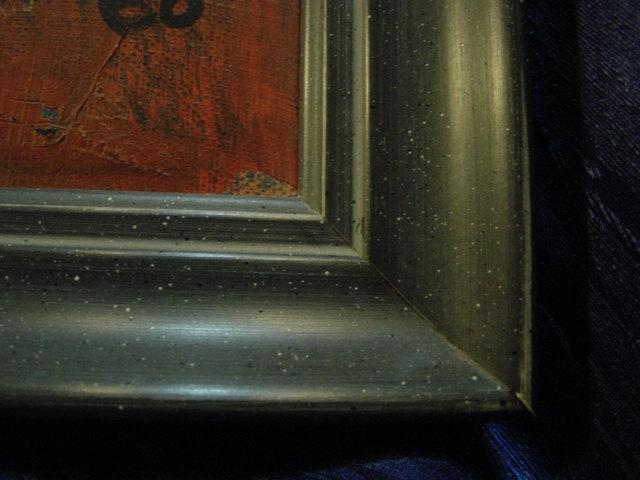 G794/ Oelmalerei Abstrakte Kunst Christian 68 2
