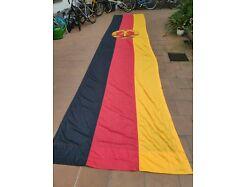 E282b/ Große DDR Fahne , Fund aus DDR Bestand, ca. 650 x 150 cm