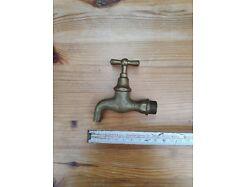 E314/ Antiker,Wasserhahn Messing 1/2 Zoll