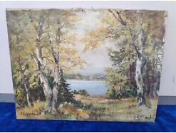 E295/ Fritz Kohlschmidt Gemälde