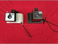 E346/ Vintage - alte Polaroid Land Camera Zip und Swinger Modell 20