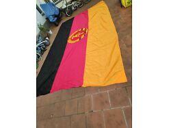E391/ Große DDR Fahne , Fund aus DDR Bestand, 480 x 280 cm