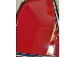 E417/ Tablett Serviertablett Glastablett Metallrahmen 60er 1