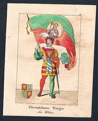 1835 - Preußen Prussia Uniformen uniforms Lithographie lithograph 84648