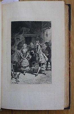 1879 - Abbe Prevost - Manon Lescaut Vorzugsausgabe Radierungen gravures Lalauze