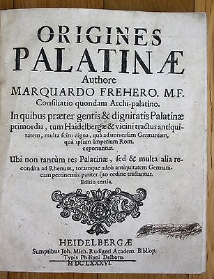 1654-1687 Pfalz Niedersachsen Bardowick Chronik Helmstedt Meibom Freher