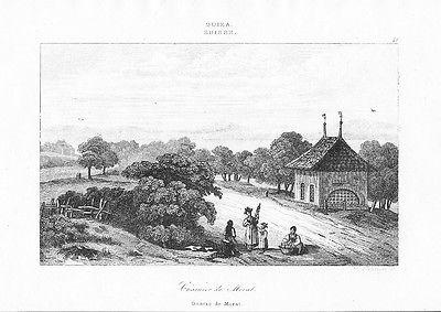 1835 - Preußen Prussia Uniformen uniforms Lithographie lithograph 57033
