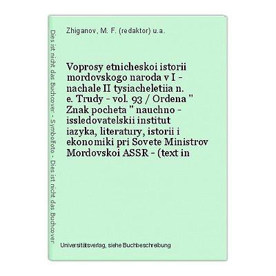 Ocherki istrorii russkoi etnografii folkloristiki i antropologii - vol. III - (