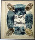 1878 Johann Schwarzer Jauernig Javornik Reise manuscript Handschrift Schlesien