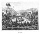 Bild zu 1840 - Burg Stein...