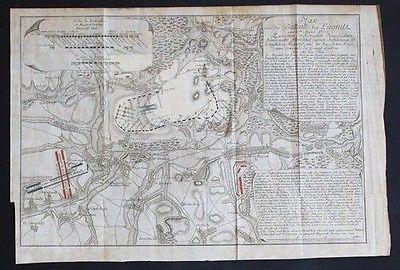 1760 - Liegnitz Legnica Polen Poland Kupferstich Karte Polska map engraving