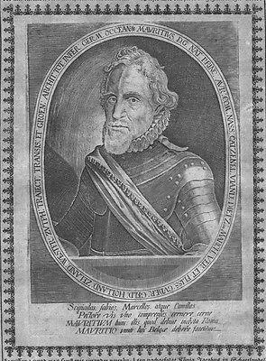 1640 - Moritz von Oranien Nassau Dillenburg Kupferstich engraving Maurits Oranje