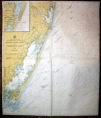 1940 United States Delaware Maryland Virginia Fenwick Amerika ...