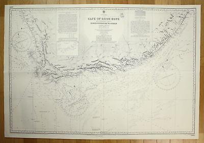1949 South Africa Cape Good Hope Adjacent Coasts Hondeklip Bay Durban map