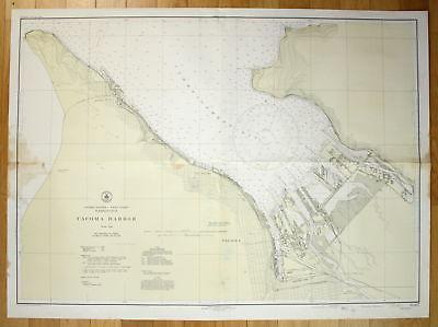 1943 United States - West Coast - Washington - Tacoma Harbor America ...