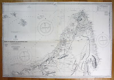 1919 Mediterranean Sea - Greece - Gulf of Patras and Approaches ...