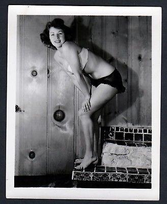 1960 Unterwäsche lingerie Erotik nude Po Hintern vintage Dessous photo Foto