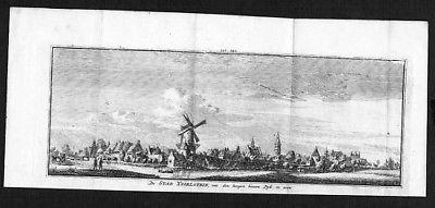 1750 - IJsselstein Utrecht Holland Kupferstich engraving gravure 83814