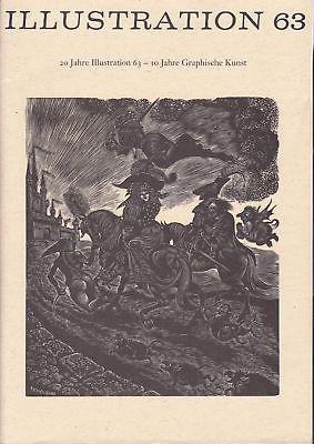 Curt Visel Illustration 63  Heft 4 / 1983 Festschrift Zwanzigjährigen Bestehen