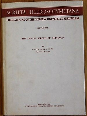 Clara Heyn - Annual Species of Medicago Botanik 1963
