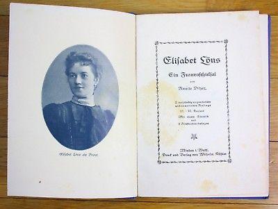 1925 Amelie Dilzer Elisabet Löns Frauenschicksal Dilzer Biographie Hermann Frau