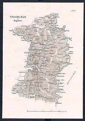1840 - Argonnen Frankreich France Schlacht battle Karte map gravure Stahlstich