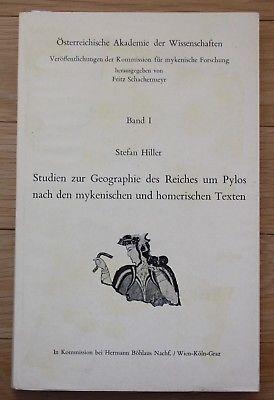 1972 - Studien zur Geographie des Reiches um Pylos Mykene Homer Antike Band I
