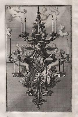Kronleuchter chandelier Leuchter Kerzenhalter silver silversmith design baroque