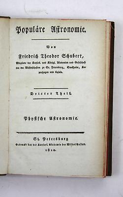 1810 Schubert - Populäre Astronomie - Band 3 -- astronomy science Kupfertafeln