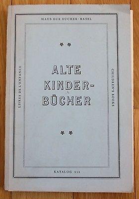 1983 - Adolf Seebaß - Alte Kinderbücher und Jugendschriften Katalog Preisliste