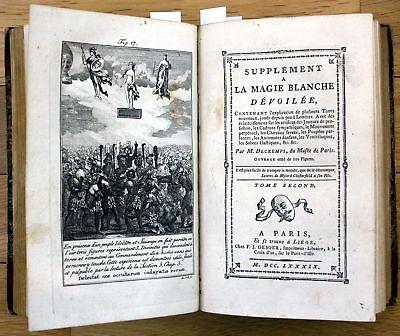 1789 Sammelband conjuring books Zauberbücher Zauberbuch magic magie