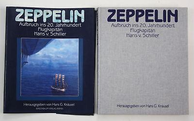 1988 Knäusel Zeppelin Aufbruch 20. Jh. Flugkapitän Hans v. Schiller Luftfahrt